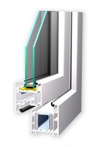 Neue Fenster Kunststoff SOFTLINE_70_AD
